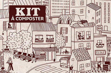 Kit compostage