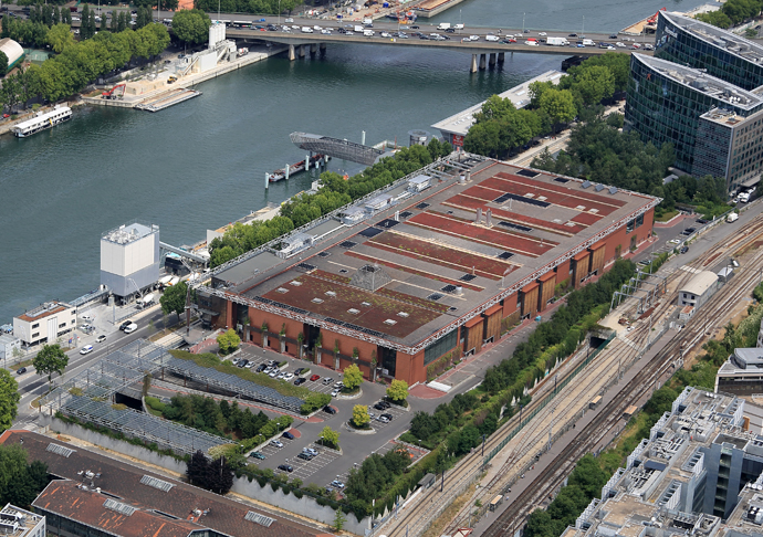 Centre d 39 incin ration iss ane du syctom issy les moulineaux syctom - Piscine d issy les moulineaux ...
